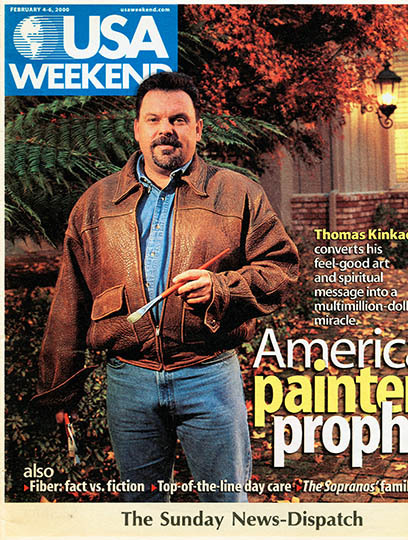 USA Weekend cover, Thomas Kinkade